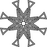 Keltischer Knoten #63 Lizenzfreies Stockfoto