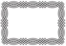 Keltischer Knoten-Rand Lizenzfreie Stockfotos