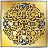 Keltischer Knotenauszug Stockfotos