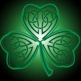 Keltischer Shamrock Stockfoto