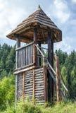 Keltischer Wachturm bei Havranok - Slowakei lizenzfreies stockbild