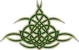 Keltisches dekoratives Muster Stockfotografie
