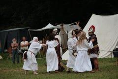 Keltisches Festival 2017 von Ome - BS - Italien Stockbild