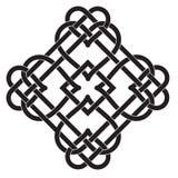 Keltisches Knoten-Motiv Lizenzfreies Stockbild