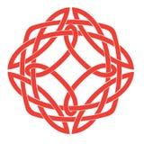 Keltisches Knoten-Motiv Stockfotografie