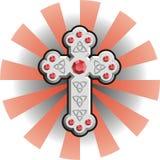 Keltisches Kreuz lizenzfreie abbildung