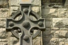 Keltisches Kreuz. Lizenzfreies Stockbild