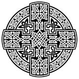 Keltisches Kreuz des Vektors Stockfotos