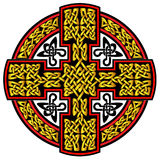 Keltisches Kreuz des Vektors Stockbilder