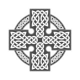 Keltisches Kreuz des Vektors Ethnische Verzierung Geometrische Auslegung Lizenzfreie Stockfotografie