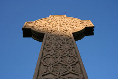 Keltisches Kreuz im Necropolis Glasgow Stockfoto