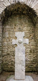 Keltisches Kreuz Irland Stockfotografie