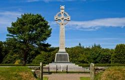 Keltisches Kreuz-Kriegs-Denkmal stockfotografie