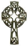 Keltisches Kreuz mit Ausschnittspfad Lizenzfreie Stockbilder