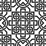 Keltisches nahtloses Muster Stockfotos