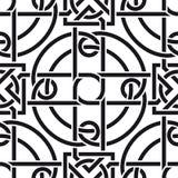 Keltisches nahtloses Muster Stockbild