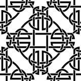 Keltisches nahtloses Muster Lizenzfreies Stockfoto