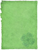 Keltisches Pergament Lizenzfreie Stockfotos