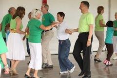 Keltisches Tanzen Lizenzfreies Stockfoto