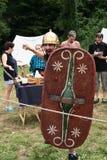 Keltisk festival 2017 av Ome - filosofie kandidat - Italien Arkivfoto