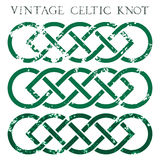 Keltisk fnuren för tappning Arkivfoto