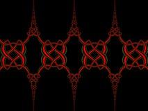 Keltisk fnurenbakgrund Arkivfoton