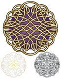 Keltisk fnurenMandala Royaltyfri Bild