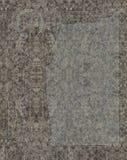 Keltisk lättnad med evangelisten som mejslas i granit Royaltyfria Bilder