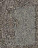 Keltisk lättnad med evangelisten som mejslas i granit Arkivbilder