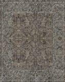 Keltisk lättnad som mejslas i granit Arkivfoton