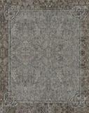 Keltisk lättnad som mejslas i granit Arkivbilder