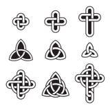 Keltisk prydnaduppsättning Royaltyfria Bilder