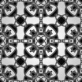 Keltisk sömlös modell för vektor Royaltyfria Bilder
