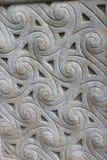 Keltisk stenprydnad arkivbild