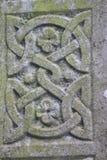 Keltisk stenprydnad arkivbilder