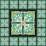 Keltisk traditionell mosaikhemdekor Arkivbild