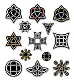 Keltiska designbeståndsdelar 2 Arkivfoto