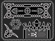 Keltiskt en prydnad för design Royaltyfri Fotografi