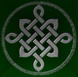Keltiskt fnurensymbol Royaltyfria Foton