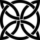 Keltiskt fnurensymbol Arkivfoton