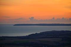 Keltiskt hav Royaltyfria Foton