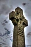 Keltiskt kors A Fotografering för Bildbyråer