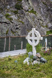 Keltiskt kors Arkivfoto
