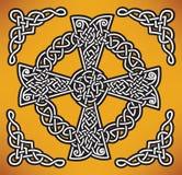 Keltiskt kors Royaltyfri Foto