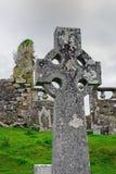 Keltiskt kors i Skottland Arkivbild