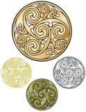 Keltiskt mynt Arkivfoto