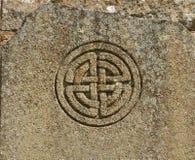 Keltiskt symbol Arkivfoto