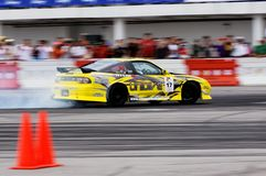 Kelvin drifting at Formula Drift Championship Stock Photography