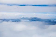 Kelvin--Helmholtzwolken stockfoto