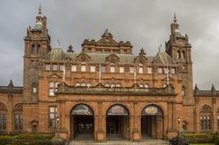 Kelvingrove Art Gallery et entrée de musée Images libres de droits